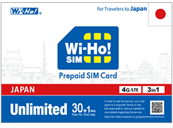 Unlimited Data Prepaid SIM Card | Wi-Ho! Prepaid SIM for Traveler to